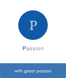 with great passion