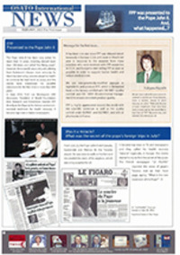 OSATO Internationnal NEWS(English) Vol.1