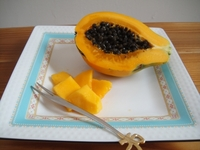 Harvesting the Papayas