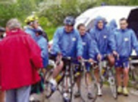 Charity bicycle races