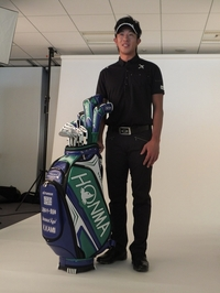 Immun'Age supports a Golf Pro Kunihiro Kamii of TEAM SERIZAWA