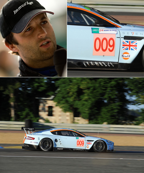 Aston MartinDBR9 009's second victory at Le Mans 2008