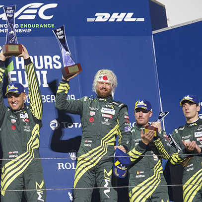 Victory of Aston Martin Racing in 6 Hours of FUJI 2019